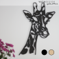 Mobile Preview: Wandholz Giraffe lasiert