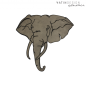 Preview: Wandleder Elefant